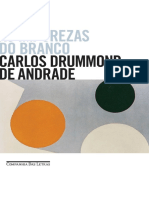 Carlos Drummond de Andrade. as Impurezas Do Branco