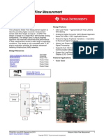 Tidua10a Ultrasonic Water Flow Measurement Design Guide Using MSP430FR6972