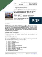 Pmwj77 Dec2018 Reid PMI PBA Exam Practice Test and Study Guide Book Review