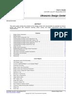 Slau720b Ultrasonic Design Center User's Guide for TIDM-1019