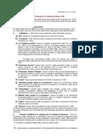 Draft ECommerce Rules 11 November