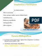 Efectos Terapéuticos y Fisiológicos del parafango