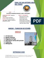 Fundicion y Refineria de Pisco - Minsur