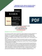 cia de Don Carlos Antonio Lopez