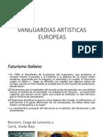 Vanguardias artistas Europeas