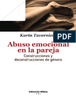 Abuso Emocional en La Pareja - Karin Tevarniers (Libro)