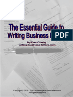 The Essential Guide to Writing Business Letters-new