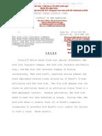 Racist New York Life Slammed in Federal Court in Ketler Bosse v. NYLife 19-CV-016-SM