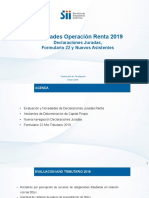 NOVEDADES DE LA RENTA AT 2019