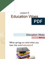 Education Woes - Lesson 5.pdf