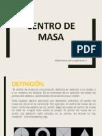 Centro de Masa