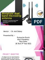 Miniature dual band microstrip antenna.pptx