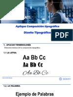 Clase 04 - Aplique Composición Tipográfica
