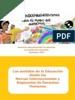 Presentación Camilla Croso para Foro Educativo