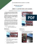informe leyes de los gases