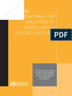 World Health Organization - 2007 - Mental Health Policy and Service Guidance Package