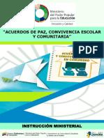 Acuerdos de Paz, Conv Esc y Com 2019-2020 Def