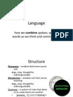 8 - language development