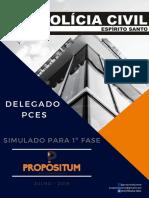 Simulado Delegado PCES