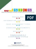 assessment basics overview prek 3
