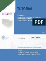 Tutorial Curso Diseño de Instalaciones Sanitarias y de Gas en BIM.pdf