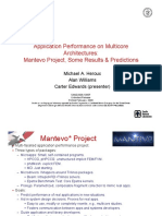 Heroux App Perf on Multicores Mantevo Project SAND2008-1085P 020408