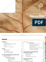 Relatório anual natura