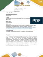 Reseña Promoción a La Etica (Wilande Ramirez)