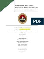Salida de campo - Salinas y Aguada Blanca  Arequipa (Informe)