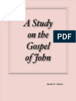 A Study on the Gospel of John by Jesse C. Jones