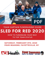 Sled for Red Captain Fundraising Toolkit, ACR Health