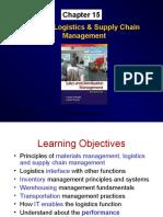 Market Logistics & Supply Chain Management