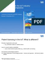 19-11-12 Joachim Henkel Patent Royalties in IoT