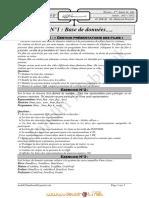 Série d'exercices de Révision N°1 - Bases de données base de données - Bac Informatique (2011-2012) Mr Mahdhi Mabrouk.pdf