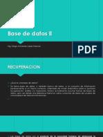 Base de datos ll