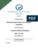Tarea3Carolina Damián Rodríguez EDUCACION PARA LA