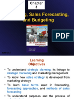 Planning, Sales Forecasting, and Budgeting