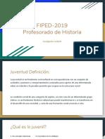 FIPED-2019 Profesorado de Historia