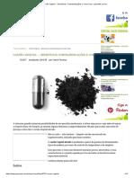 Carvão Vegetal → Benefícios, Contraindicações e Como Usar - greenMe.com.br