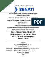 autotransformador trifasico calculos