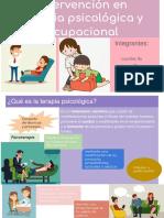 Terapia Psicologica y ocupacional