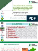 Alejandro N. Salas Begazo -  Estudio de cumplimiento de normativas vigentes en la gestión de residuos solidos municipales en disposición final  (1).pdf