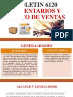 Boletin 6120.- Inventarios y Costo de Ventas (1)