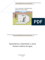 Manual de Desinfeccion Del Sistema de Agua Potable-convertido