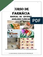 Maual de Estágio Pitágoras- Análises Clínicas 2012 2013