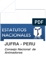 Estatuto ofs  Nacionales Jufra Peru