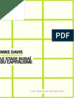 (Penser_croiser) Cusset, François_ Davis, Mike - Le stade Dubaï du capitalisme-Les prairies ordinaires (2008)