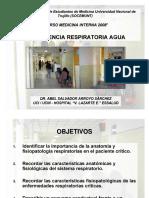 Insuficiencia Respiratoria Aguda DR. ABEL SALVADOR ARROYO SÁNCHEZ