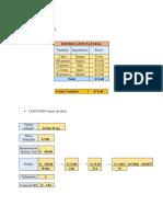 Costo Variable, Fijo, Proyección de La Utilidad (1)