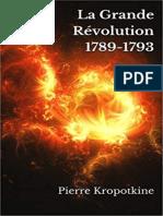 EBOOK Pierre Kropotkine - La Grande Revolution 1789-1793.epub